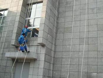 外墙清洗的条件和注意事项